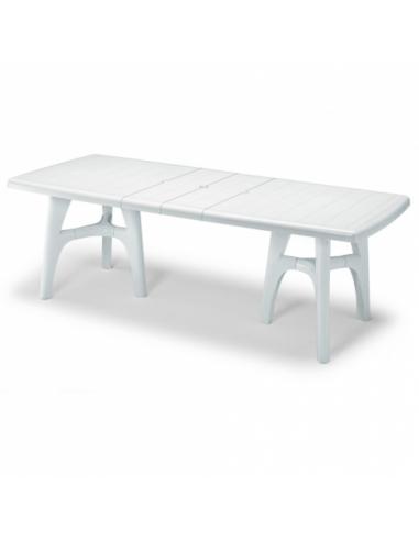 Tavolo Da Terrazzo Allungabile.Tavolo Allungabile Da Esterno Per Giardino President Tris Scab Design