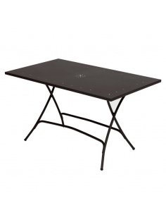 Tavolo da esterno PIEGHEVOLE 120 x 80 cm - Scab Design