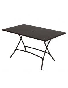 Tavolo da esterno PIEGHEVOLE 140 x 80 cm - Scab Design