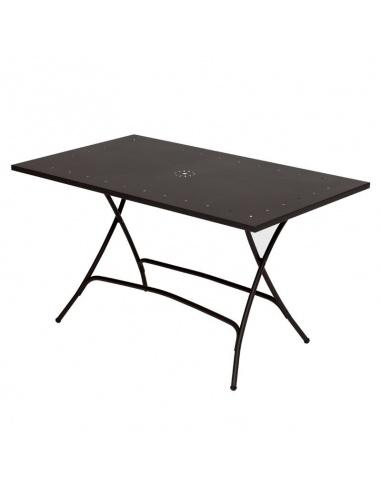 Tavoli Da Esterno Design.Tavolo Da Esterno 2755 81 Pieghevole 140 X 80 Cm Scab Design