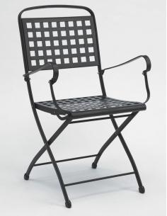 Sedia da esterno per giardino ISABELLA con braccioli 2511 - Scab Design - minimo 2 pezzi