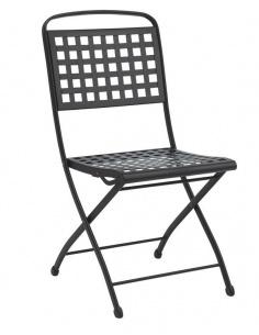 Sedia da esterno per giardino ISABELLA senza braccioli 2516 - Scab Design - minimo 2 pezzi