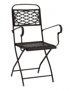 Sedia da esterno per giardino ISA con braccioli 2531 - Scab Design - minimo 2 pezzi