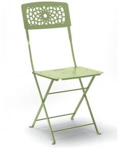 Sedia GALA pieghevole in acciaio, per esterno da giardino, in diversi colori SCAB DESIGN - minimo 4 pezzi