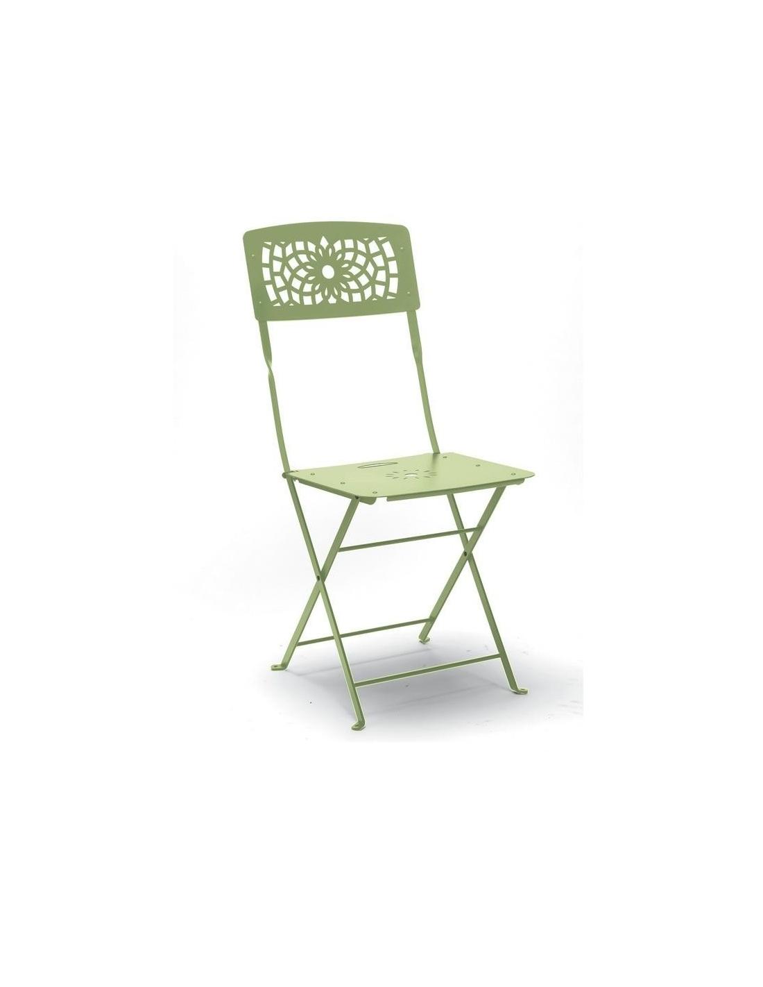 Sedia gala pieghevole in acciaio per esterno vari colori for Sedia design pieghevole