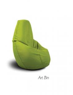 Pouf sacco modello I MORBIDI art. BIN di SPOUF Style - pouf design