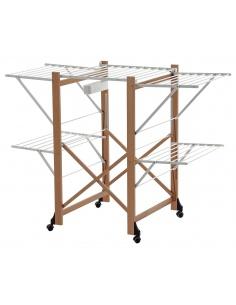 Stendibiancheria in legno richiudibile modello ALIANTE 606 - Arredamenti Italia - Made in Italy