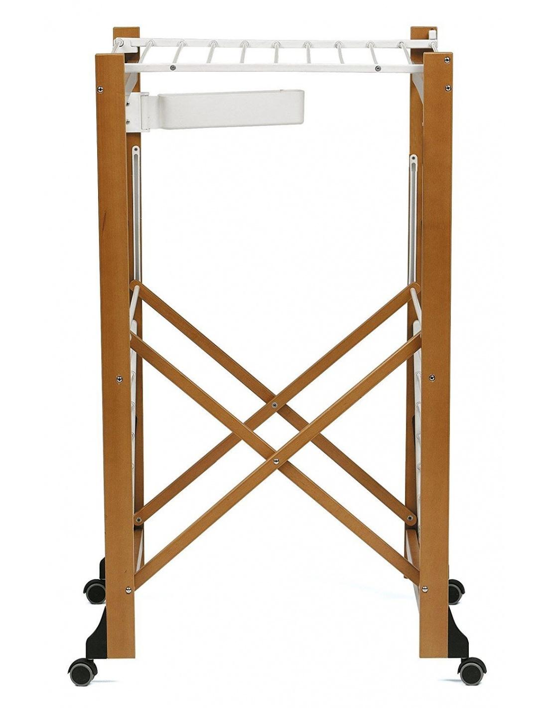 Stendibiancheria in legno richiudibile aliante 606 for Made in italy arredamenti bertinoro