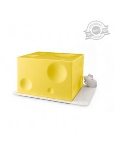 """Porta formaggio """"I Love Cheese"""" di BALVI in polipropilene"""