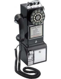 Telefono fisso vintage/retrò da parete di Balvi con salvadanaio
