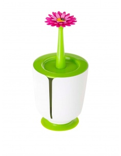 """Porta rotolo da bagno """"Flower Power"""" di Vigar"""