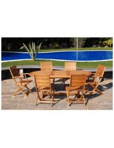 Tavolo da pranzo in legno  allungabile modello Texas 150/200x90 cm.