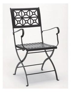 Sedia da esterno per giardino ISOTTA con braccioli 2501 - Scab Design - minimo 2 pezzi