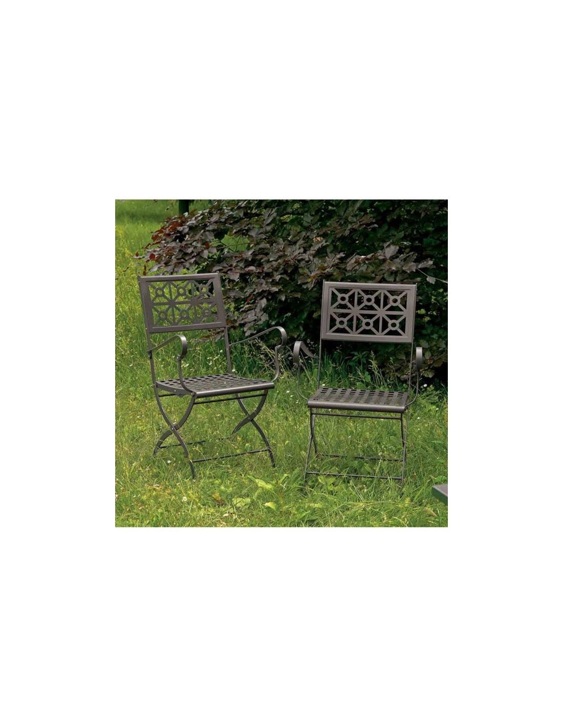 Sedie Da Giardino Scab.Isotta Con Braccioli E Una Sedia Pieghevole Giardino 2501 Scab Design
