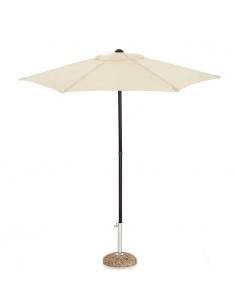 Ombrellone modello Garden Push Up diam. 2 metri colore ecrù