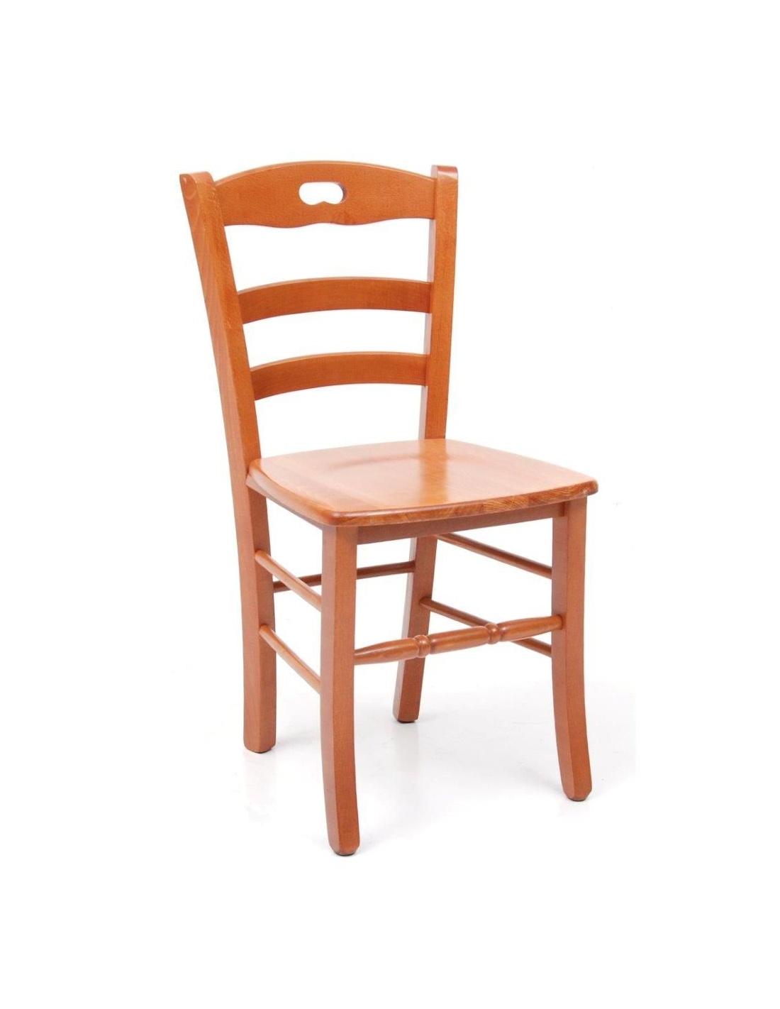 Sedia da pranzo in legno modello loris massello colori - Sedia da pranzo ...