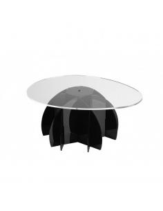Tavolino in metacrilato modello Atlante di Emporium
