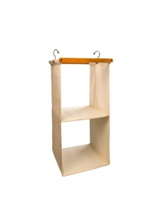 Organizzatore per armadio salvaspazio in legno mod. Space 2 649 di Arredamenti Italia