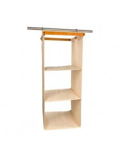 Organizzatore per armadio salvaspazio in legno mod. Space 3 cod.650 di Arredamenti Italia