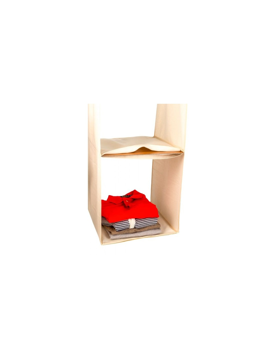 Organizzatore per armadio salvaspazio legno space 3 arredamenti italia - Accessori per camera da letto ...