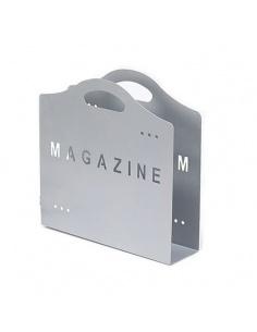 """Portariviste in metallo """"Magazine"""" di Maiuguali colore grigio"""