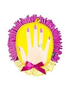 Panno in microfibra Dolls a forma di mano di Vigar