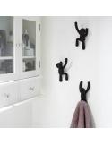 Appendiabiti da parete Buddy a forma di omino in diversi colori