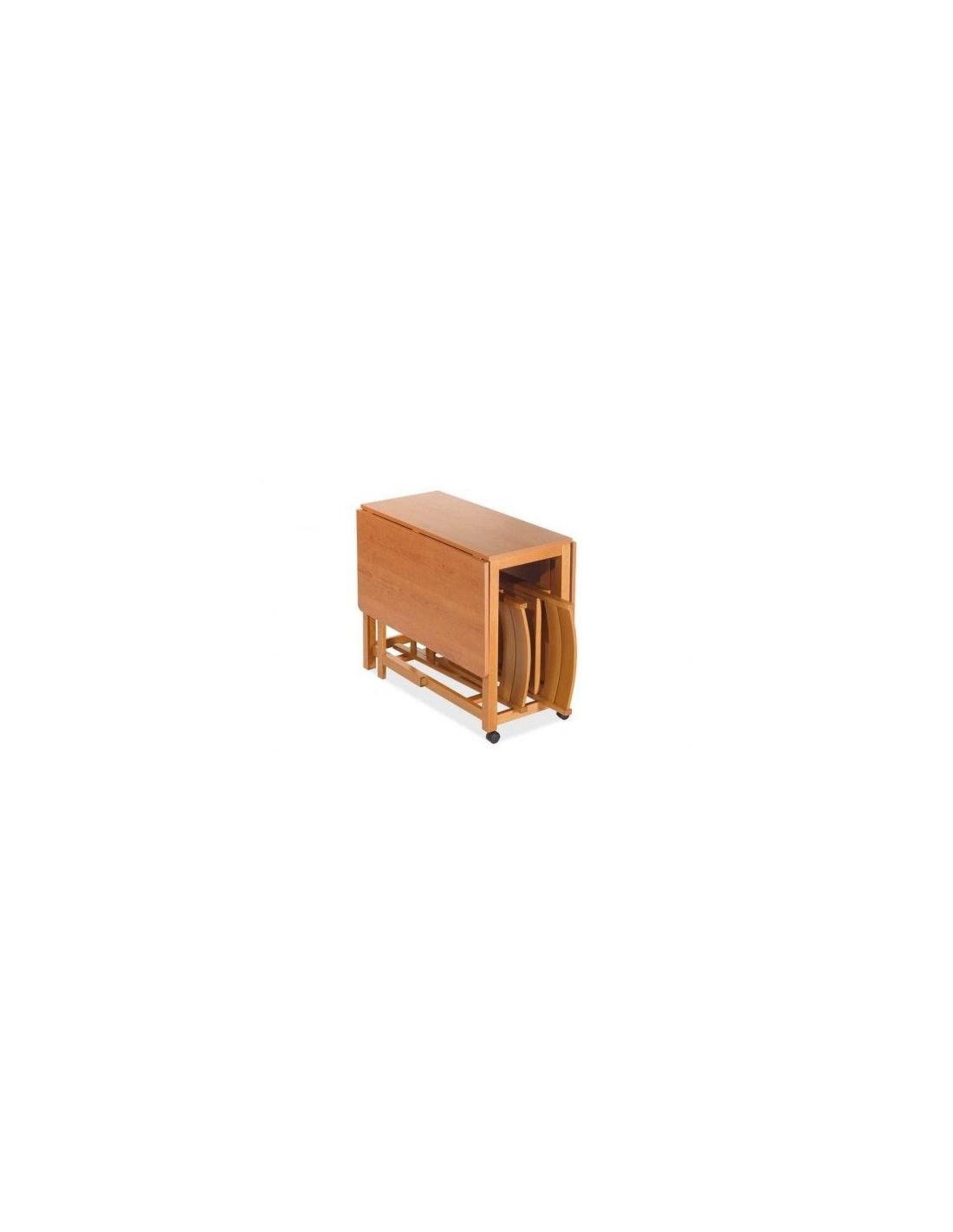 Tavolo pieghevole portasedie - Casa e Stile arredamenti