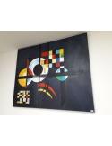 """Quadro """"Gravitation"""" riproduzione di Kandinskij - dipinto a mano"""