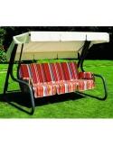 Completo di ricambio formato da cuscini, poggiabraccia e tetto dondolo da 4 posti - SCAB DESIGN