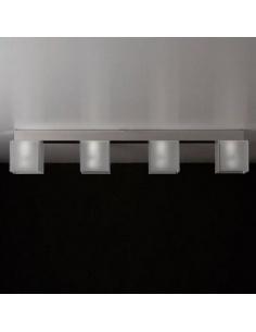 Plafoniera barra a 4 elementi modello DIDODADO CL 448 di Emporium