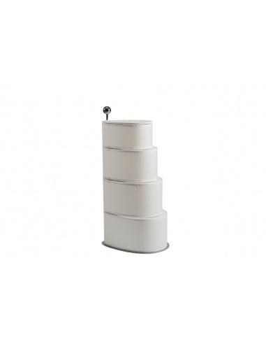 Contenitori per la raccolta differenziata salvaspazio di design - Emporium