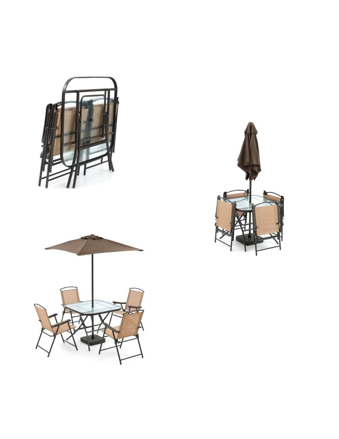 Set DayBreak per esterno giardino con tavolo, sedie e ...