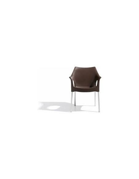 Sedia di Scab Design poltroncina in Tecnopolimero impilabile per esterno/interno