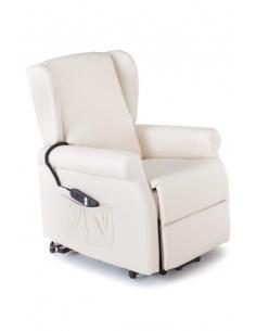 Poltrona relax  reclinabile con un motore alzapersona mod. Margaret