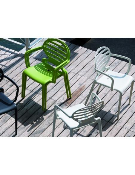 Sedie COKKA 2280 braccioli - Scab Design - minimo 4 pezzi