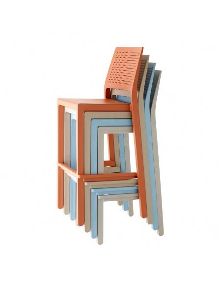 Sgabello EMI 2347 h.65 cm - Scab Design - Minimo 4 pezzi