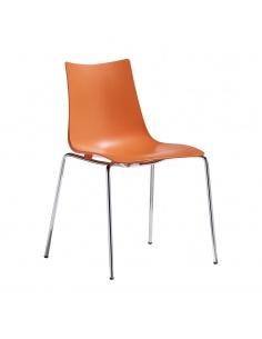 Sedia ZEBRA TECNOPOLIMERO 2615 4 gambe - Scab Design
