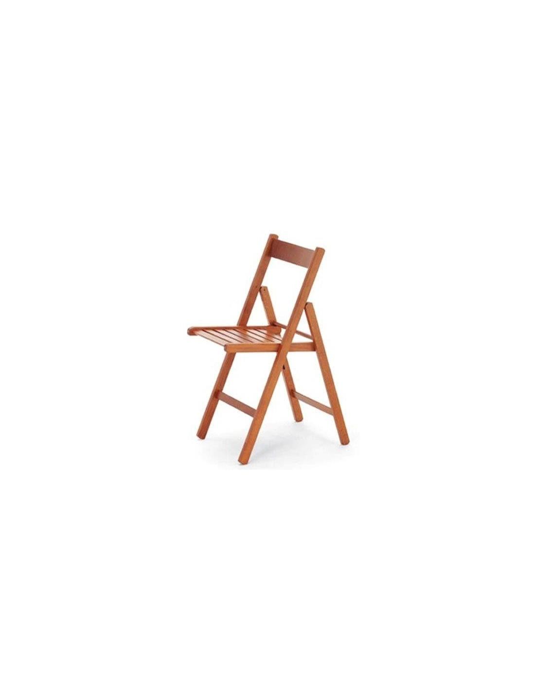 Set di 4 sedie pieghevoli in legno vari colori - Colori mobili legno ...