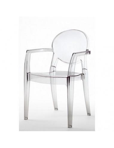 Sedie moderne modello IGLOO 2355 con braccioli di Scab Design