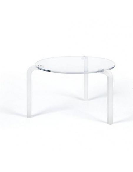 Tavolino modello FINNY 2 CL 212 tondo alto di Emporium