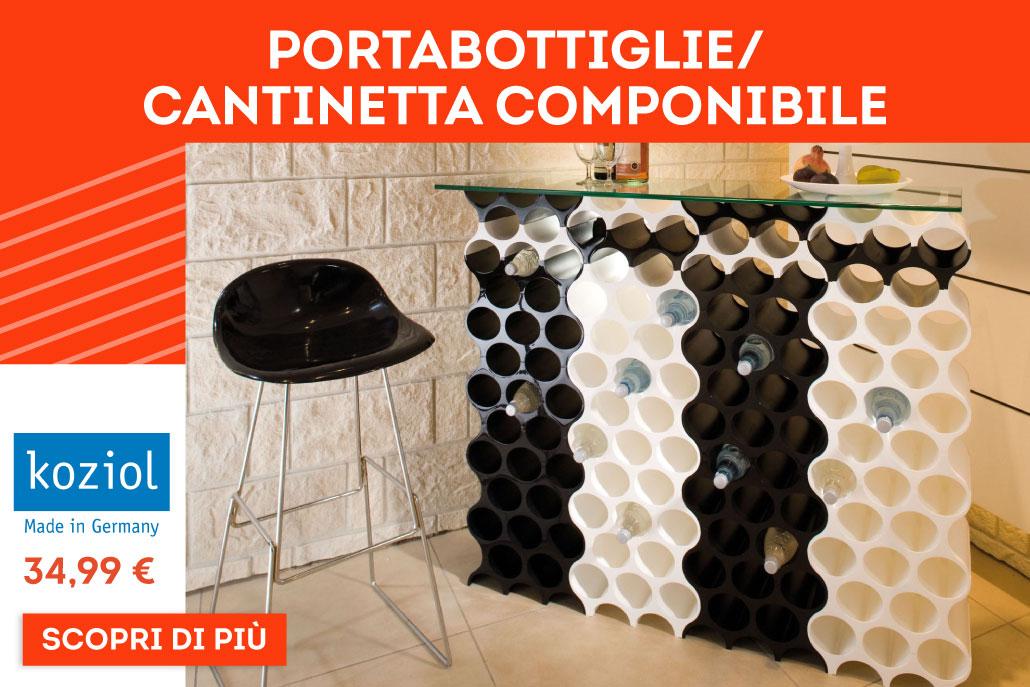 Porta Bottiglie /Cantinetta componibile