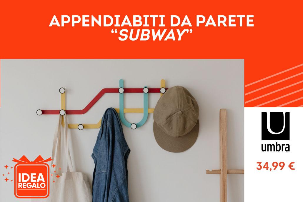 """Appenditabiti da parete """"Subeay"""" - Umbra"""