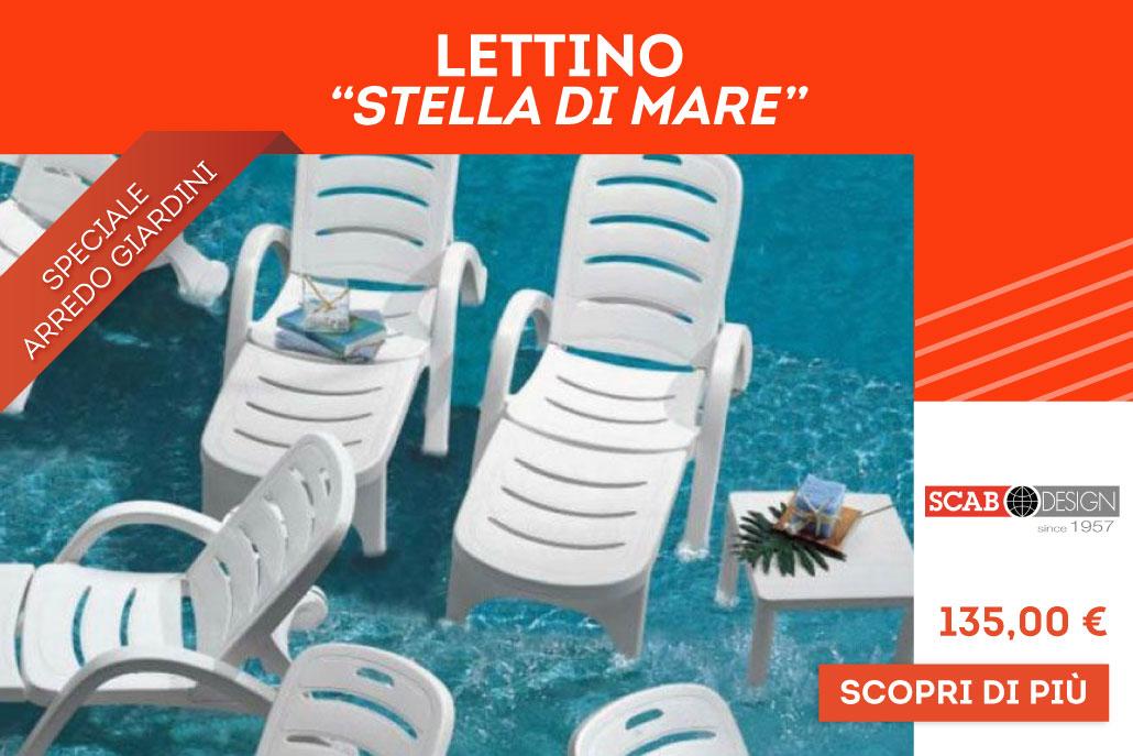 """Casa e Stile Arredamenti Lettino """"Stella di Mare"""""""