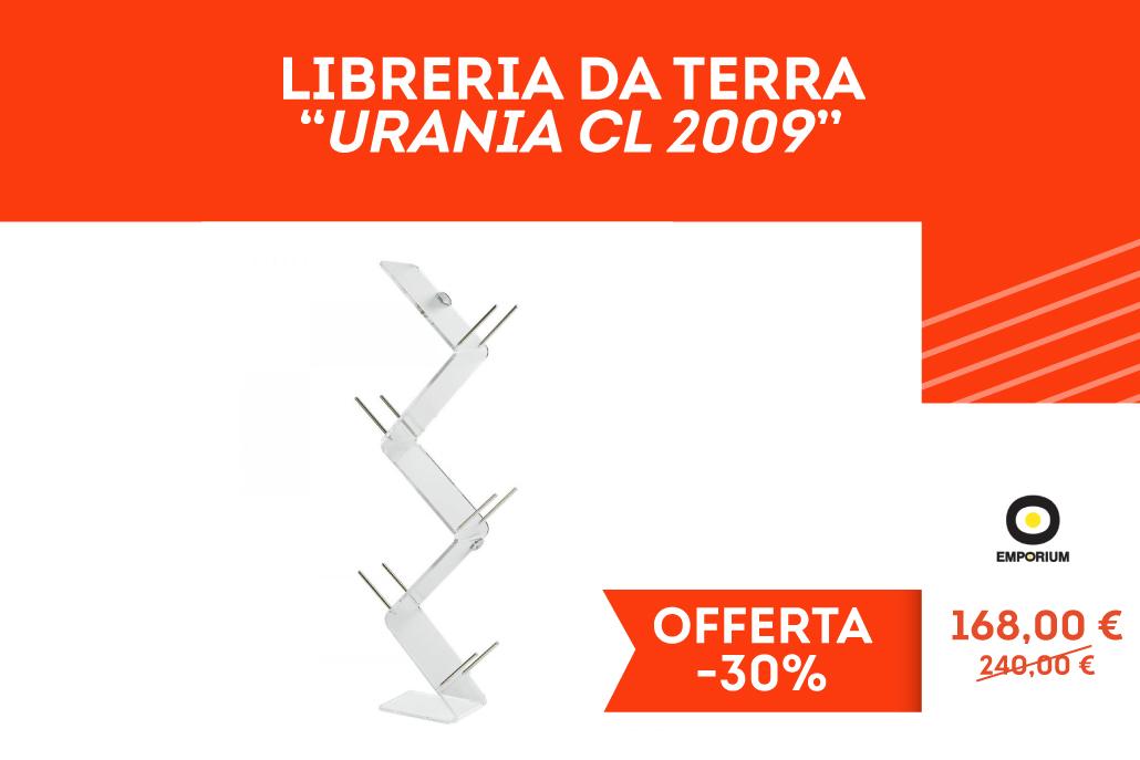 Libreria da terra modello Urania