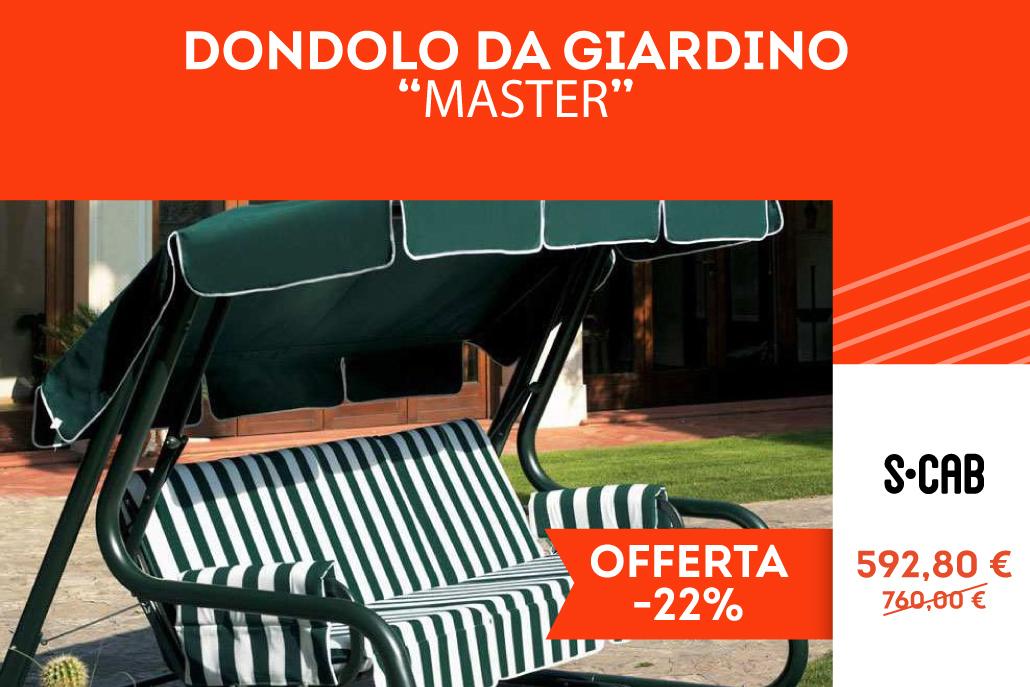 """Dondolo da guardino """"Master"""""""
