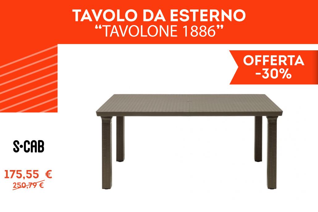 """Tavolo da Esterno """"Tavolone 1886"""""""