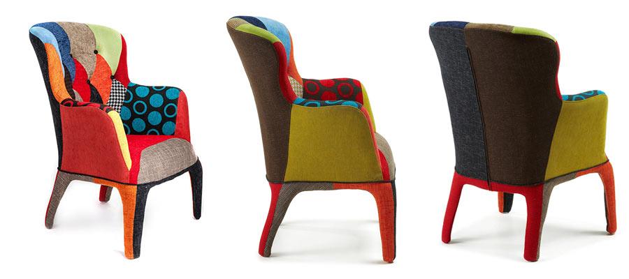 Poltrone Di Design Prezzi.Poltrona Patchwork Design E Confort A Prezzi Scontati