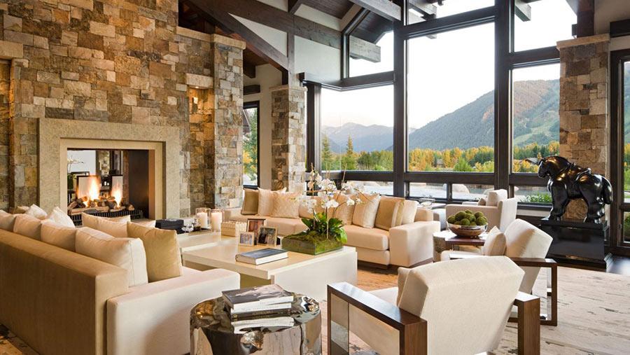Come arredare un soggiorno moderno con stile e risparmiare for Casa stile classico moderno