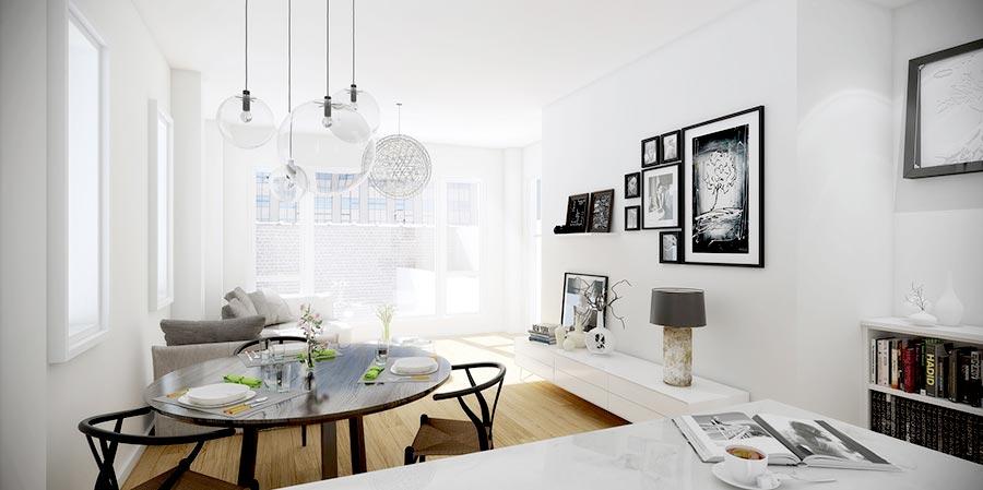 Salone Stile Moderno Con Parquet E Vetrate Internal Design : Saloni moderni contemporenei immagini ed idee di